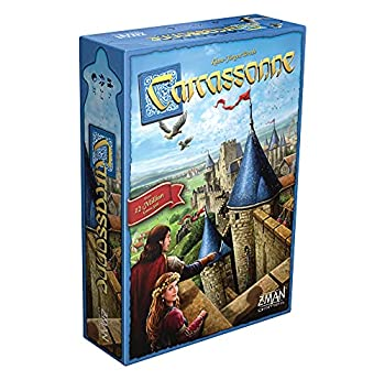 Carcassonne Board Game  BASE GAME  | Family Board Game | Board Game for Adults and Family | Strategy Board Game | Medieval Adventure Board Game | Ages 7 and up | 2-5 Players | Made by Z-Man Games