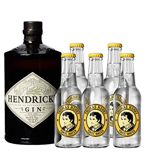 Hendrick´s Gin (1 x 0.7 l) + Thomas Henry Tonic (5 x 0.2 l)