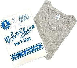 (ベルバシーン) Velva Sheen 2パックVネックTシャツ[160922]