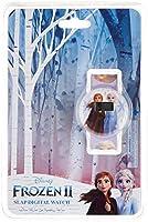 Disney Frozen Girls Digital Dial Slap Band Wristwatch - TRHA3959