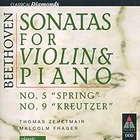 Violin Sonatas.5, 9: Zehetmair / Frager