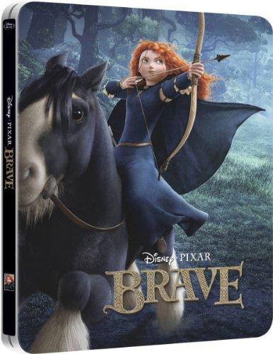Brave Limited Exclusive Steelbook 3D Blu-Ray (UK-Import ohne deutschen Ton)[Merida]