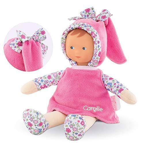 Corolle- Miss Rose Fleurs Doudou poupée, 010080