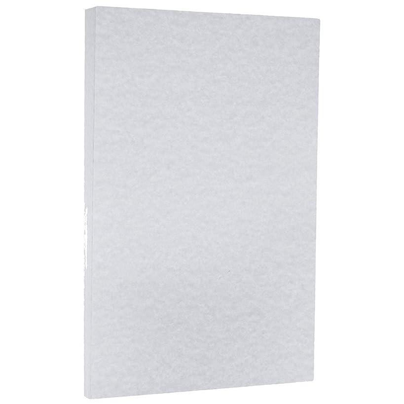 JAM PAPER Legal Parchment 65lb Cardstock - 8.5 x 14 Coverstock - Blue - 50 Sheets/Pack