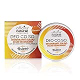 Officina Naturae DEO CO.SO. Brioso Floreale Deodorante Solido Bio Plastic FRee Con Bicarbonato 50 ml