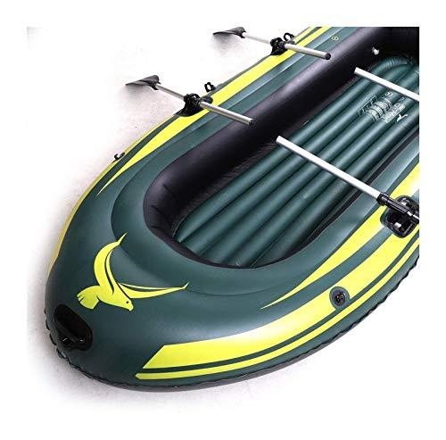 ASDFGH INTEX Challenger Inflatable Boat Series, Kayak Inflable de balsa, Barco de Pesca Kayak, 2,3,4 Personas en Barco (Size : 110 * 60 * 15)