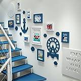 DONG Foto wand Bilderrahmen Collage Foto Wand Treppen Wand Bilderrahmen Bilderrahmen Holz Foto Wände Wohnzimmer Eingang Creative Frame Kombination
