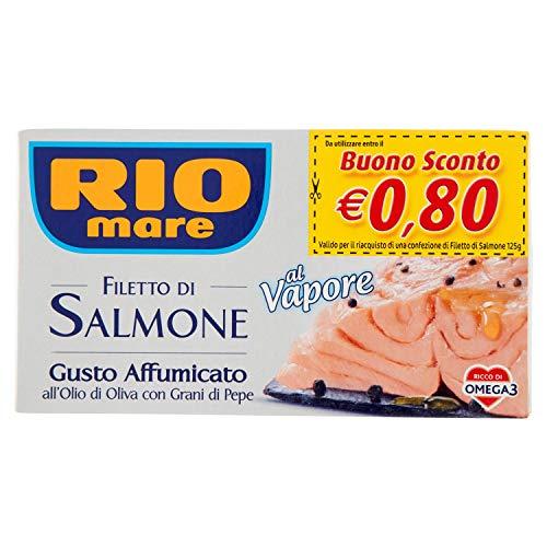 Rio Salmone Affumicato al Vapore - 125 gr