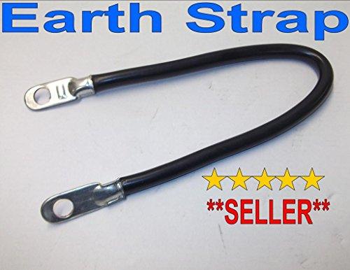 22,9 cm Batterie Sangle Terre Câble Batterie pour voiture Marine Noir Rond Classique