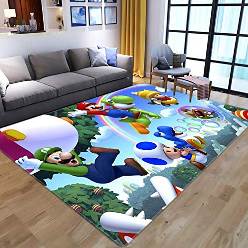 Game Rugs Area Rugs Door Mat Carpet Floor Bedroom Doormat Non-Slip Mat Living Room,Style 7,100x150cm