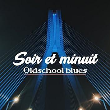 Soir et minuit: Oldschool blues - Café noire, Relaxation pendant la nuit, Lounge musique