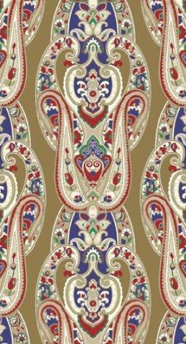 16-Count Elise Premium Patterned Paper Guest Napkins, Haberdashery-Elegance