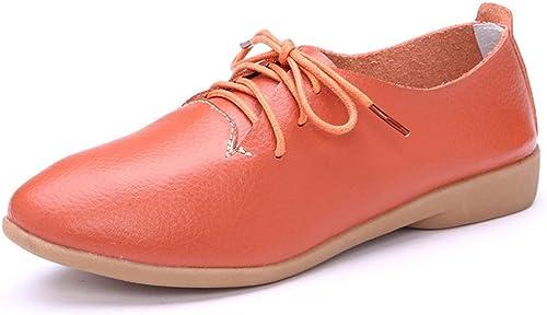 Chaussures pour femmes de printemps maman maman chaussures chaussures de sport , marron , US7.5   EU38   UK5.5   CN38  vente en ligne