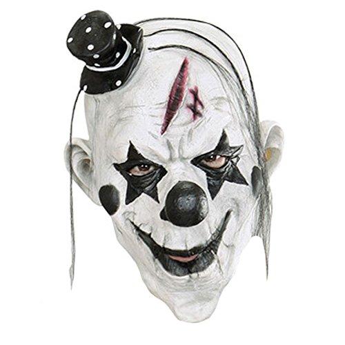 Queenshiny® látex máscara realista Partido de Cosplay de Halloween Disfraz (Payaso asesino)
