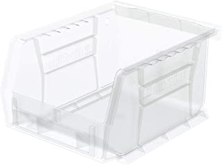 Akro-Mils 30210 Plastic Storage Stacking AkroBin, 5-Inch by 4-Inch by 3-Inch, Clear, Case of 24