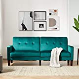 Sofa Bed Sleeper Couches and Sofas - 78.35'' Couch Recliner Convertible Sofa Modern Adjustable Futon Couches Sofas Bed for Living Room Fold Up and Down Recliner Couch