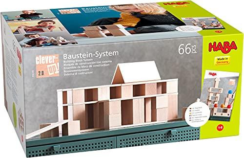 HABA 306249 - Bausteine mit Clever-Up! 2.0 System ab 1 Jahr