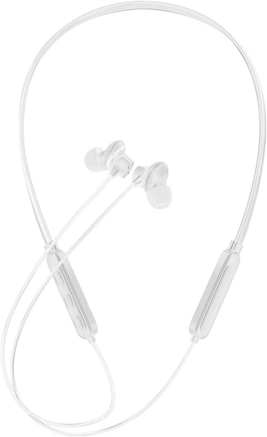 Bluetooth Earphones & Headphones,G03S Stereo Headphone Neckband in-Ear ABS Magnetic Bluetooth 5.0 Earphone Compatible with iPhone Android
