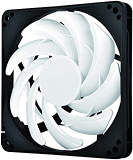 SilverStone Technology Professional (15mm Thick) Slim 120mm Fan with Fine-Tuned Performance and Low Noise Cooling FN123-USA