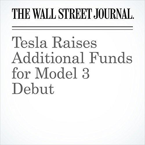 Tesla Raises Additional Funds for Model 3 Debut copertina