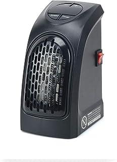 RENXR Estufa Eléctrica Calefactor Mini Portátil Handy Heater 350W Bajo Consumo Temperatura Regulable Baño Casa Oficina Enchufe UE