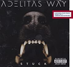 """Adelitas Way - Stuck LIMITED EDITION CD Includes 2 Bonus Tracks """"Know It All"""" and """"Someone Said You're Well by N/A (0100-0..."""
