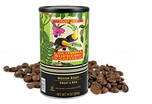 Trader Joe's Colombia Supremo Coffee 14 OZ (1 pack)