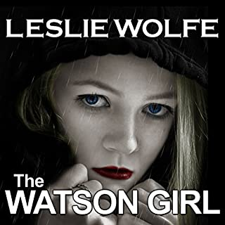 The Watson Girl audiobook cover art