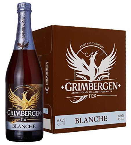 Grimbergen Birra Blanche (Abbazia)- 6 bottiglie da 750 ml