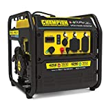 ADVANCED DIGITAL HYBRID DESIGN: 50% quieter and 20% lighter than a traditional Champion 3500-watt generator, plus our Economy Mode feature saves fuel and extends engine life DUAL FUEL: This RV Ready inverter operates on gasoline or propane and has a ...