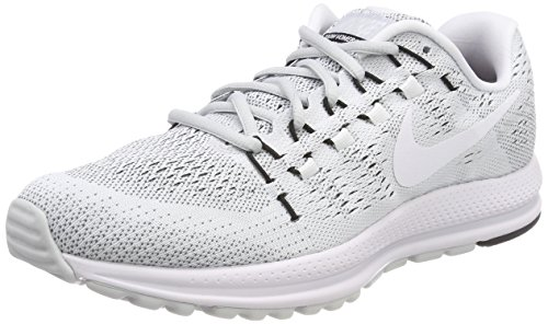 Nike Men's Air Zoom Vomero 12 Tb Running Shoes, Grey (Pure Platinum/White/Black), 8 UK 42.5 EU