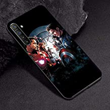 VERONIQUE-Fitted Cases - For OPPO A3S Case A7 AX7 Captain Marvel Comics Soft TPU Case For OPPO R17 RX17 Neo K1 A9 A5 2020 A5 A11X Case Cover Realme XT X2 (TPUBLK625 For OPPO RX17 Neo)