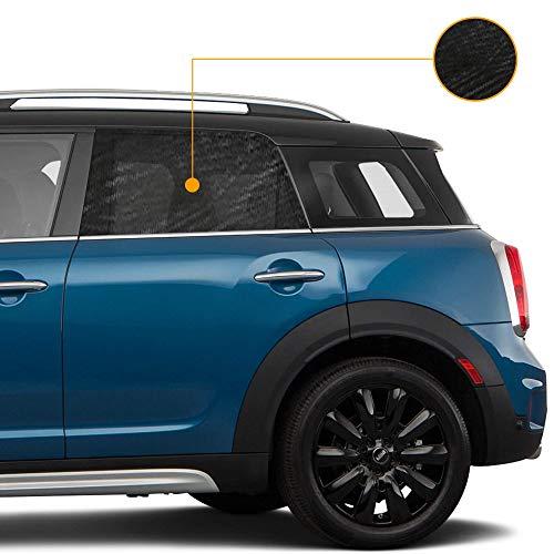 Tommask Tendina Parasole Auto Bambini Nuovo Modello 2021 Royal Stretch Protezione Raggi Solari UV Oscurante Finestrino Laterale Auto - 2 Pezzi