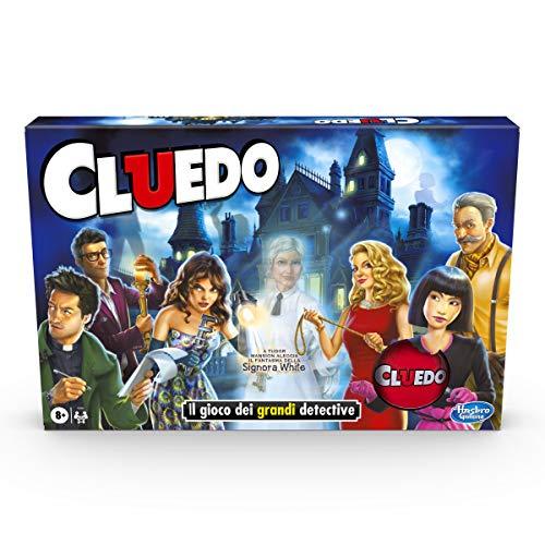 Hasbro Gaming Cluedo col fantasma di Mrs. White