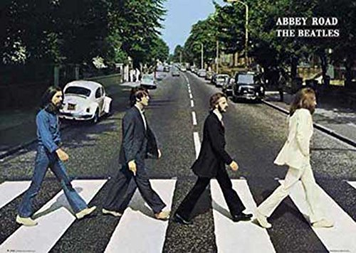 Beatles, The - Abbey Road - Musikposter Foto Classics - Grösse 91,5x61 cm