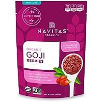 Navitas Organics Goji Berries 8 Oz Bag