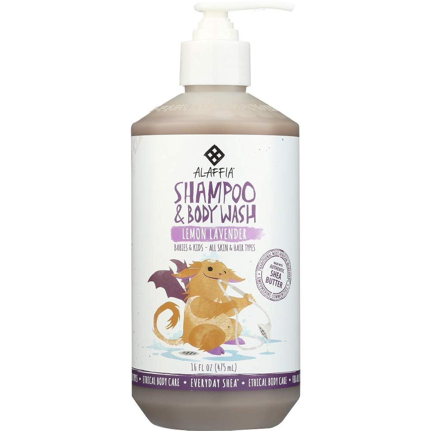 敵意冬二週間Alaffia Everyday Shea Shampoo & Body Wash for Babies and Up Lemon Lavender 16 oz Size: 16 oz CustomerPackageType: Standard Packaging, Model: C580, Baby & Child Shop by Baby & Child Shop