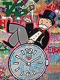 Julykai Desarrollar sabiduría Graffiti Art Money-Jigsaw Puzzles Set El Mejor Juego de Rompecabezas