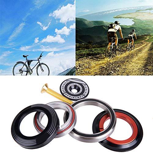 Happymore - Juego de rodamientos de horquilla delantera para bicicleta (1 unidad)