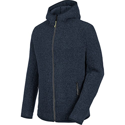 Salewa Woolen W Hoody – Sweat-Shirt pour Femme, Woolen W Hoody, Bleu (Jean Sombre (Dark Denim))