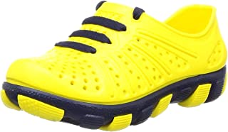 FLITE (Above 2 Years -Unisex Kid's Yellow N. Blue Clogs-24 Months