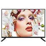 DEMAXIYA Televisores Inteligentes, TV LCD en Red, TV Inteligente con múltiples interfaces de conexión, decodificación HD HD ultradelgada, Marco Ultra Estrecho, Adecuado para Interiores y Exteriores