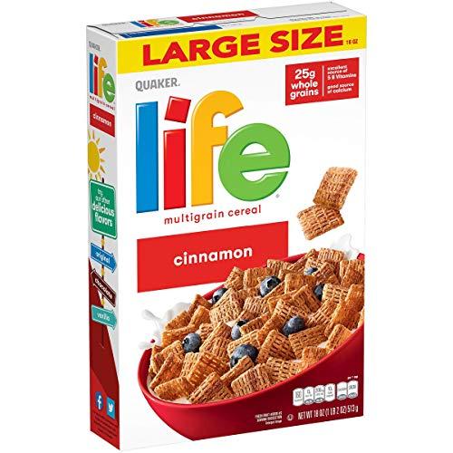 Life Cereal, Cinnamon, 18 Oz