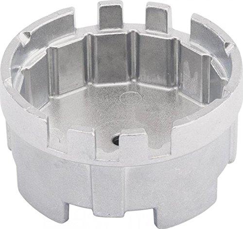 Draper 29130 14 appartements avec 6 fentes de filtre à huile Socket 64,5 mm