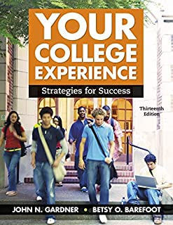 Your College Experience: Strategies for Success (1319068308) | Amazon price tracker / tracking, Amazon price history charts, Amazon price watches, Amazon price drop alerts