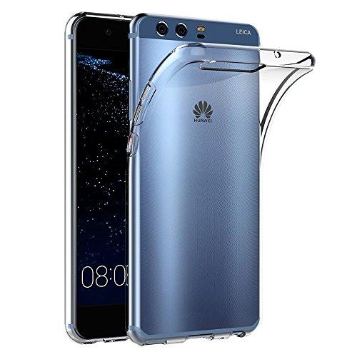 AICEK Huawei P10 Hülle, Transparent Silikon Schutzhülle für Huawei P10 Case Crystal Clear Durchsichtige TPU Bumper Huawei P10 Handyhülle