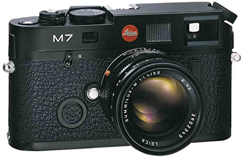 Leica M7 0.72 35mm Rangefinder Camera body silver with 0.72 viewfinder magnification u.s.a. #10504