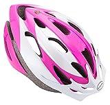 Schwinn Thrasher Bike Helmet, Lightweight Microshell Design, Adult, Pink/White