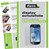 dipos I 6X Schutzfolie matt kompatibel mit Samsung Galaxy S3 Mini i8190 Folie Bildschirmschutzfolie