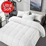 Best Down Duvet Inserts - Soft Smooth Comforter Queen Size All Seasons 2000 Review